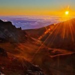 Sunrise Bike Ride at Maui's Haleakala Mountain