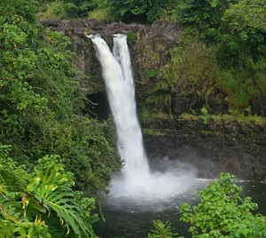 Waterfalls of Hawaii - Rainbow Falls