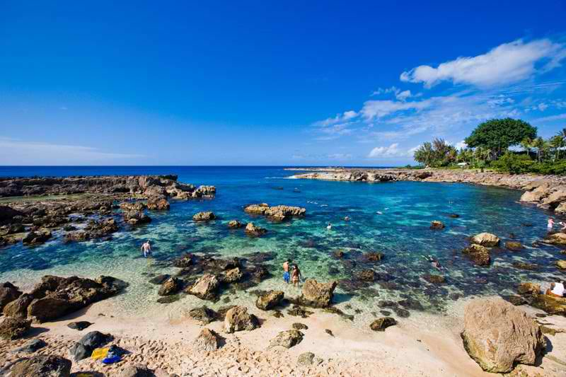 Shark's Cove - Oahu, Hawaii