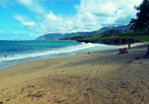 Laie Beach Park - Oahu, Hawaii