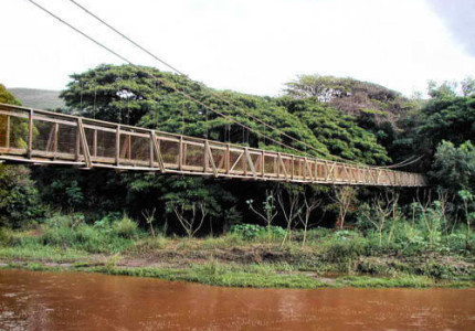 Waimea Swinging Bridge - Kauai, Hawaii