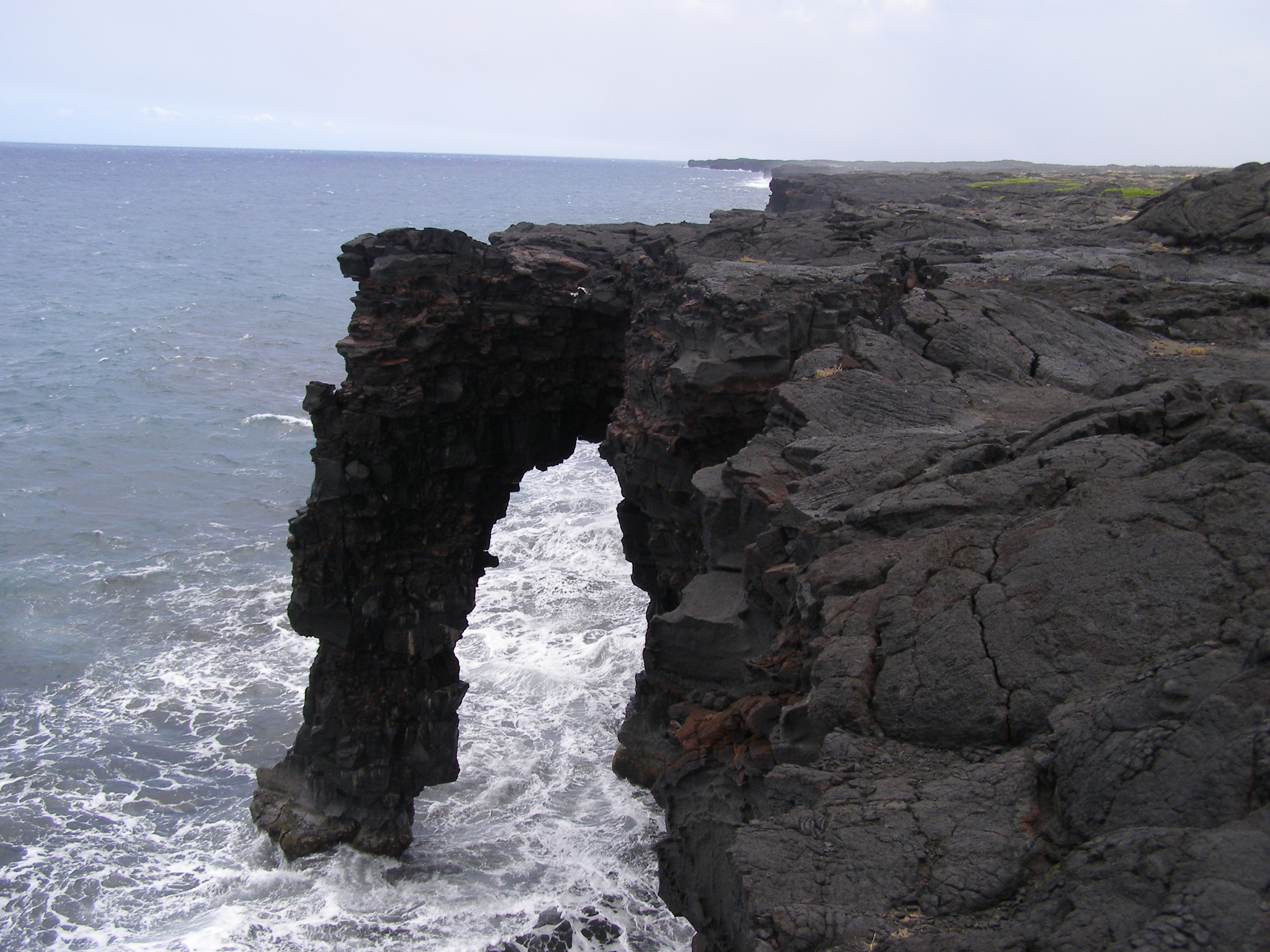 Holei Sea Arch - Big Island, Hawaii