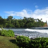 Honoli'i Beach Park - Hilo, Hawaii